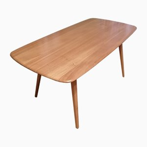 Mid-Century Elm 382 Dining Table by Lucian Ercolani for Ercol