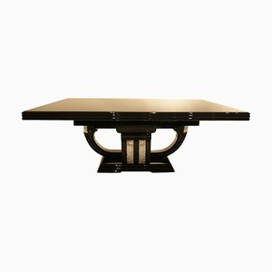 Art Deco French Extendable Dining Table, 1930s