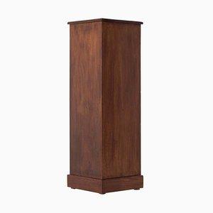 Art Deco Stained Beech Pedestal