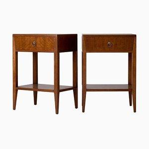 Mid-Century Mahogany Dressers, Set of 2