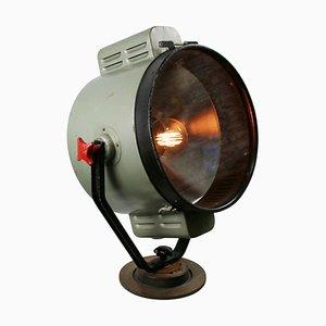 Lámpara de pie Mid-Century de metal