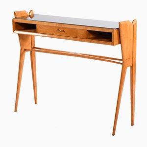 Table Console en Verre, Italie, années 50