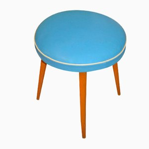 Mid-Century Wooden Stool from Tacke