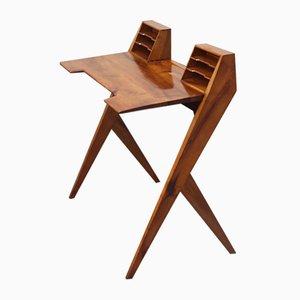 Schreibtisch aus Nussholz von Silvio Cavatorta, 1950er