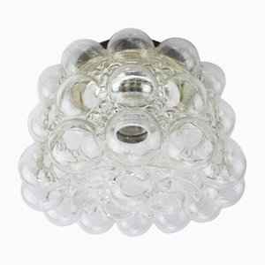 Lámpara de pared de cristal burbuja de Helena Tynell para Limburg, años 60