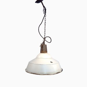 Industrial Pendant Lamp, 1980s