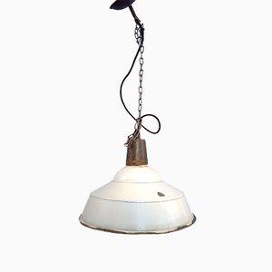 Lámpara colgante industrial, años 80