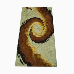 Scandinavian Abstract Rya Rug, 1970s