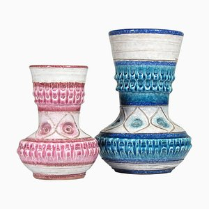 Vasen von Este Ceramiche, 1960er, 2er Set
