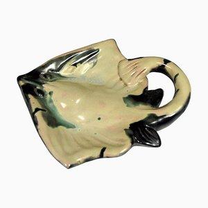 Ceramic Dish from Ceramique Ricard, 1950s