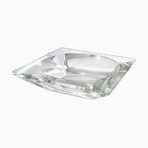 French Crystal Dish from Cristal de Sèvres, 1950s