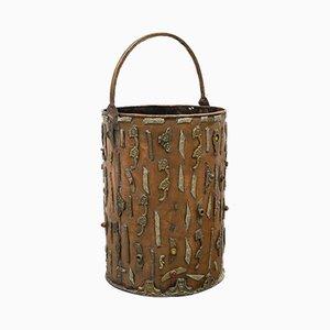 Grand Pot Vintage en Cuivre