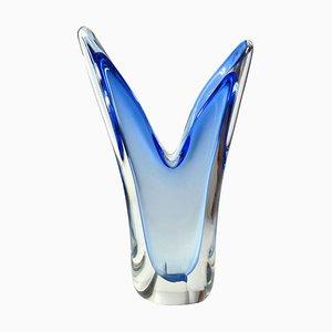 Vintage Murano Glass Vase, 1970s