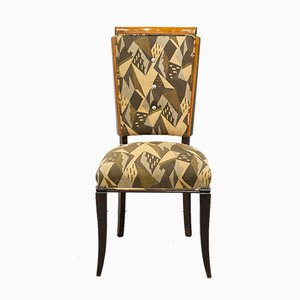 French Art Deco Side Chair, 1930s