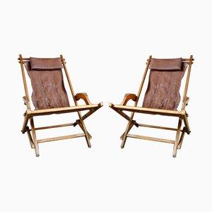 Gartenstühle, 1930er, 2er Set