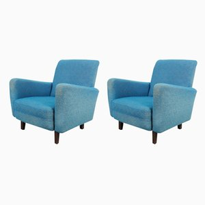 Armchairs by Jindřich Halabala for UP Závody, 1960s, Set of 2