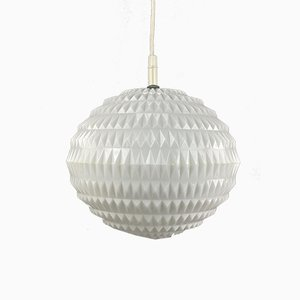 Mid-Century Space Age Plastic Ceiling Lamp from Erco