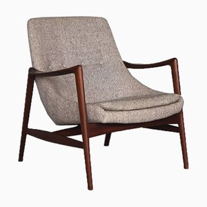 Mid-Century Norwegian Teak Armchair by Rolf Rastad & Adolf Relling for Peter Wessel, 1960s