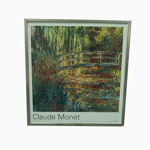 Vintage Claude Monet Exhibition Poster, 1993