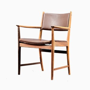 Mid-Century Rosewood Side Chair by Kai Lyngfeldt Larsen for Søren Wiladsen