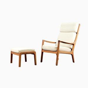 Mid-Century Sessel von Ole Wanscher für Cado, 2er Set
