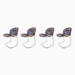 Esszimmerstühle von Gastone Rinaldi für Rima, 1960er, 4er Set