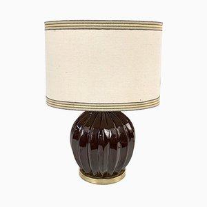 Italienische Tischlampe aus Keramik von Tommaso Barbi, 1970er