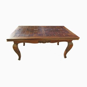 Antique Italian Oak Dining Table