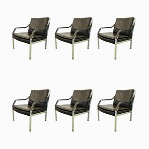 Model Alpha Lounge Chairs from Dreipunkt, 1980s, Set of 7