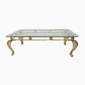 Brass Coffee Table, 1980s