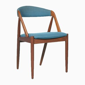Sedia da pranzo nr. 31 in teak di Kai Kristiansen per Schou Andersen, anni '60