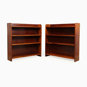 Mid-Century Brazilian Jacaranda Shelves, 1960s, Set of 2