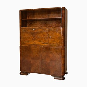 Art Deco Cabinet by Jindřich Halabala for UP Brno, 1930s