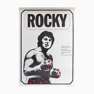 Vintage Rocky Poster by Jan Antonin Pacak, 1980s
