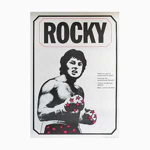 Vintage Rocky Poster von Jan Antonin Pacak, 1980er