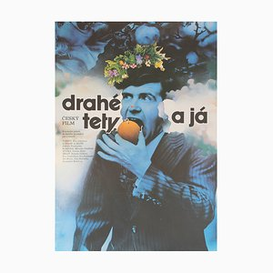 Affiche de Film Drahe Tety a Ja par Zdenek Ziegler, 1974