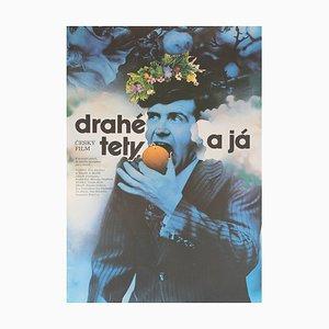 Drahe Tety a Ja Film Poster by Zdenek Ziegler, 1974