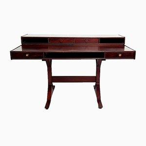 Italian Model 530 Rosewood Desk by Gianfranco Frattini for Bernini, 1960s