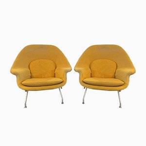 Mid-Century Lounge Chairs by Eero Saarinen for Knoll, 1960s, Set of 2