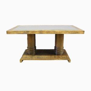 Table Basse Art Déco en Chêne, années 40