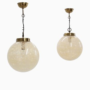 Ceiling Lamps from La Murrina, 1970s, Set of 2
