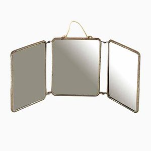Antique Folding Mirror