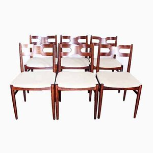 Chaises de Salle à Manger Scandinaves, années 60, Set de 6