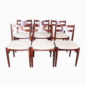 Sedie da pranzo, Scandinavia, anni '60, set di 6