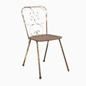 Chaise de Jardin Vintage par Mathieu Matégot, années 50
