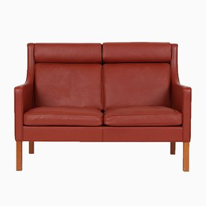 Vintage Model 2432 2-Seater Sofa by Børge Mogensen for Fredericia