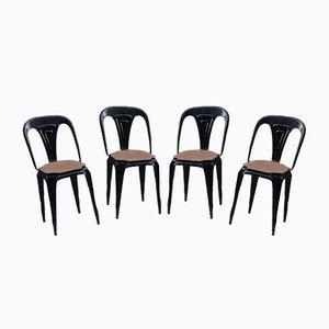 Mid-Century Esszimmerstühle von Multipl's, 4er Set