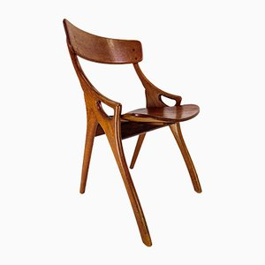 Danish Dining Chair by Arne Hovmand-Olsen for Mogens Kold, 1960s