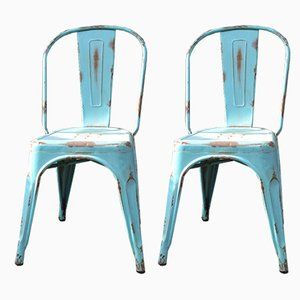 Vintage Dining Chairs, 1980s, Set of 2