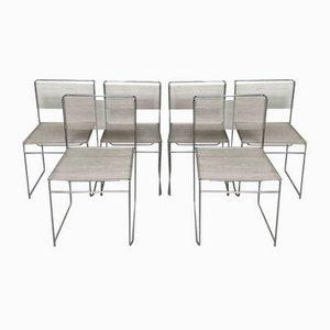 Dining Chairs by Giandomenico Belotti, 1970s, Set of 6